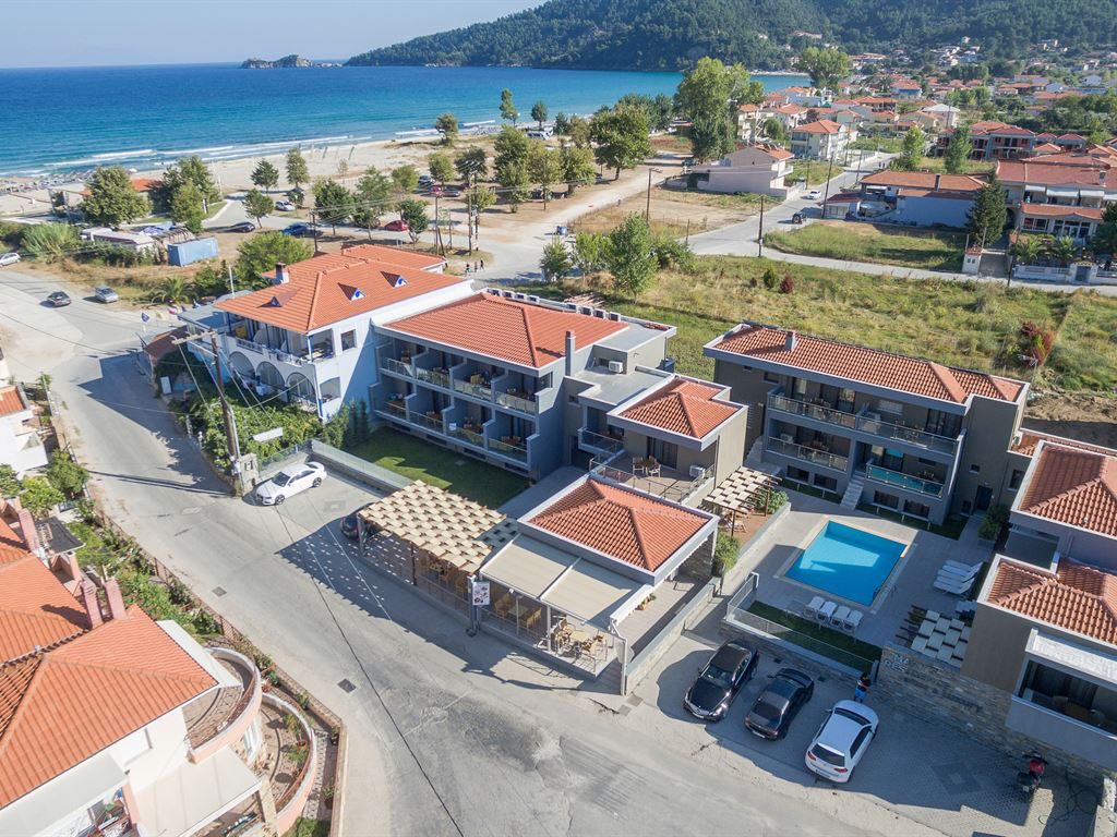 Apartments / Golden Beach / Thassos